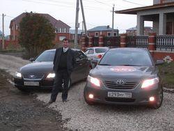 В Набережных Челнах нас встретил давний друг Рамазан - поклонник японских машин.
