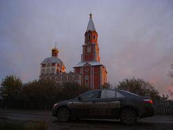 Храм в Городе Краснокамске.