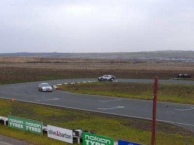Русская Камри и Mitsubishi Lancer Evolution на «Красном Кольце».