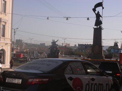 Русская Toyota Camry во Владивостоке