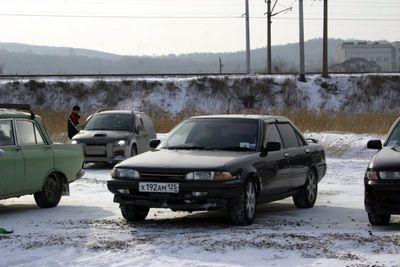 Toyota Carina. Полный привод, ABS, коробка. Дай Бог памяти, 1990 год выпуска.