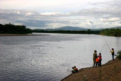 Рыбалка на берегу