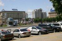 Русская Камри в центре Хабаровска