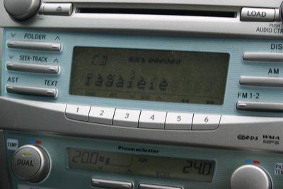 Магнитола в автомобиле за 1 млн рублей не знает, что такое кириллица