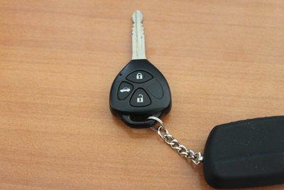 Багажник открывается дистанционно при помощи кнопки на ключе