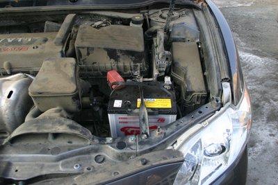 Toyota Camry с японским аккумулятором SuperNOVA