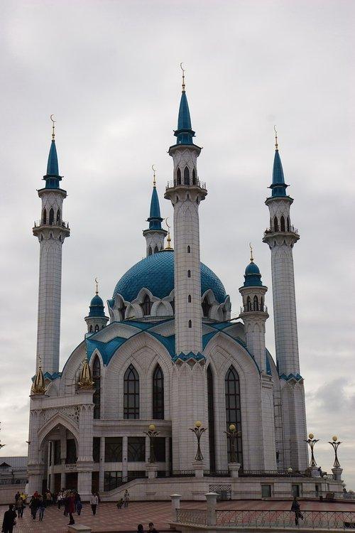 Мечеть Кул Шариф в Казанском Кремле. Офигенная архитектура.