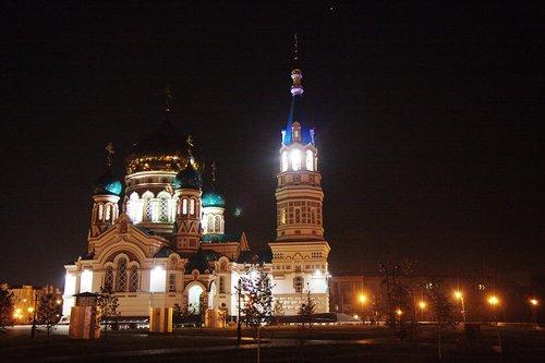 Храм в Омске, красив