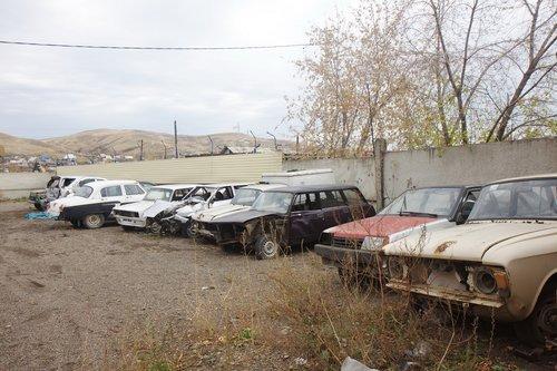 Автомобили сданные в утиль