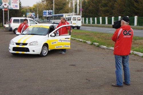 В Омске нас снимала местная автопрограмма Автостандарт