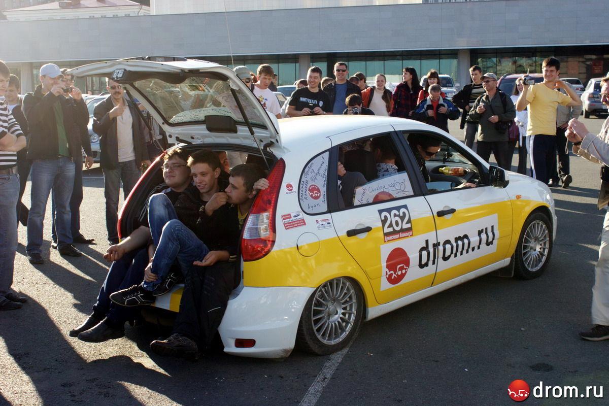 Финиш во Владивостоке преподнес машине новые испытания