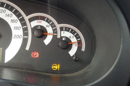 Вот, сколько бенза было в Калине
