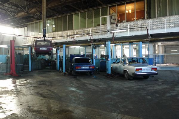 Сервисный центр компании Даль-Лада, город Владивосток