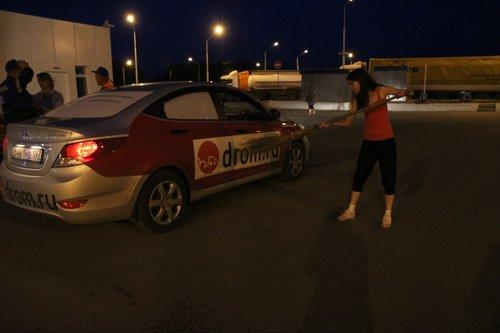 Перед въездом в Омск привели машинку в порядок ;)