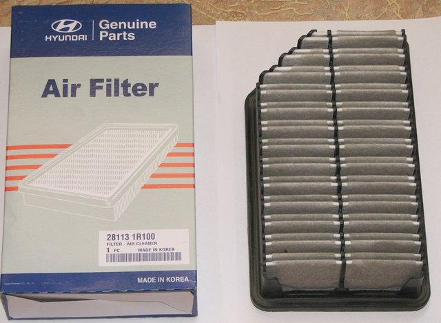 Состояние воздушного фильтра
