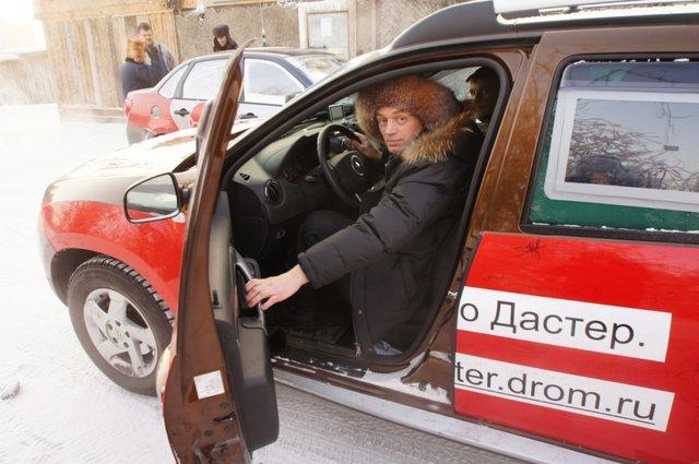 Якутские дромовцы тестируют авто