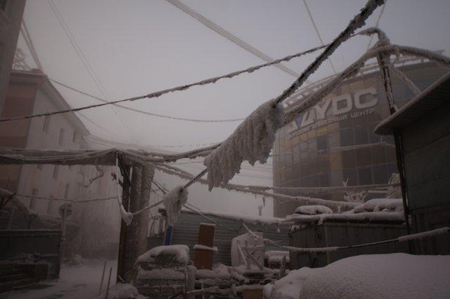 В Якутске ночью до -49 давило...