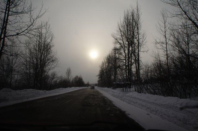Белое солнце пустыни... Северной пустыни...
