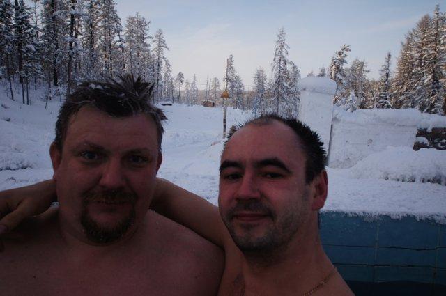Доктер и Хохол ,свежемороженные)))
