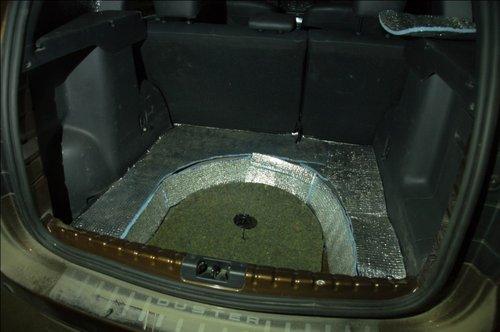 Утепление багажника