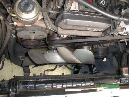 вентилятор на двигателе 1G-GZE