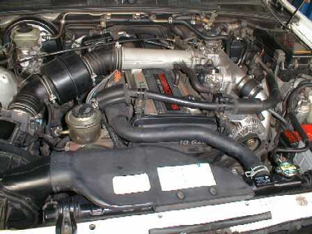 ремень ГРМ на двигателе 1G-GZE