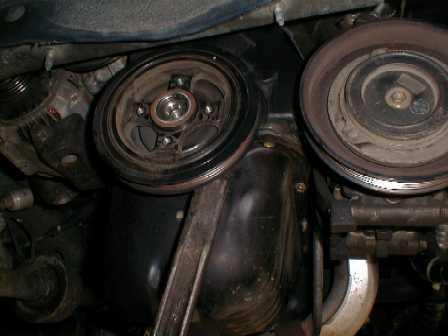 ведущий шкив двигатель Toyota 4E-F