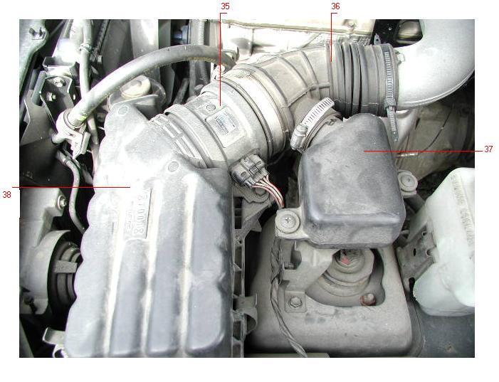 воздушный фильтр на Suzuki Eskudo