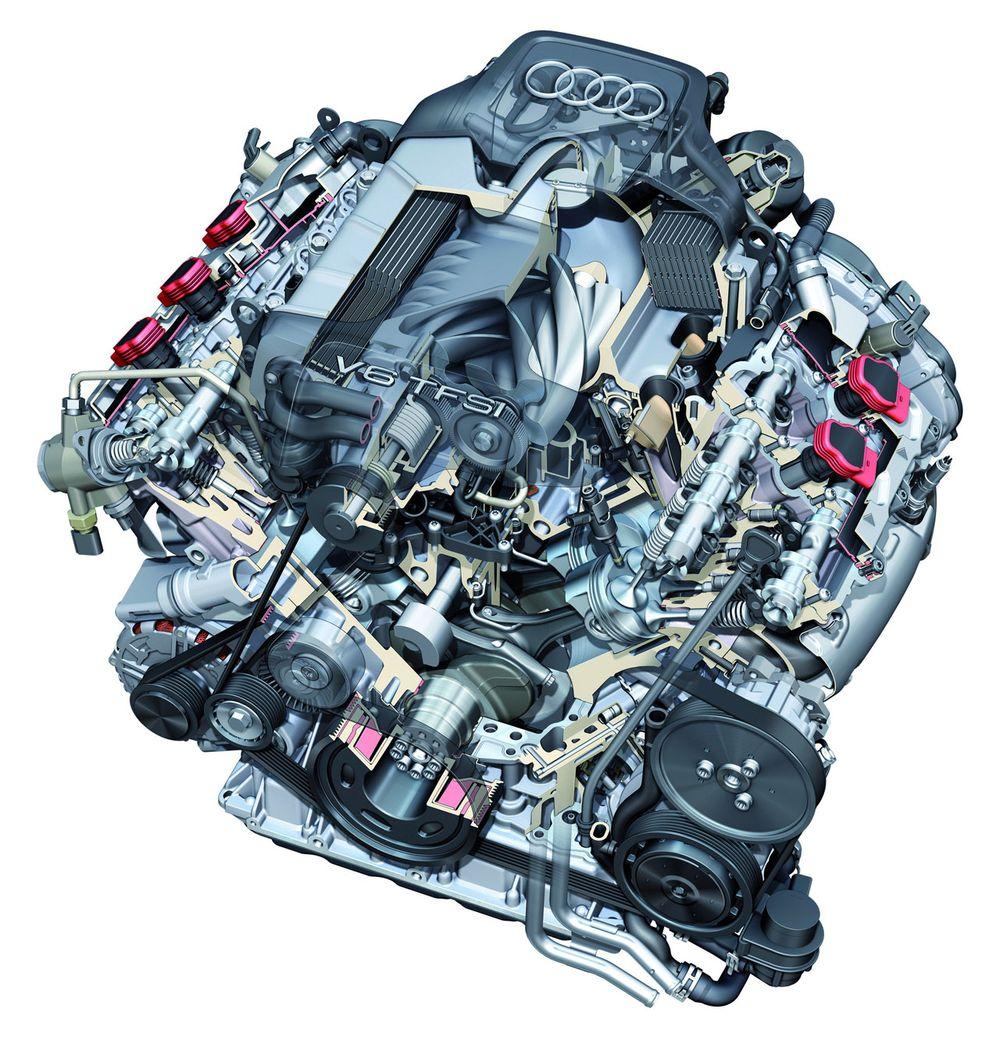 3.0L TFSI Supercharged DOHC V-6 (Audi S4)