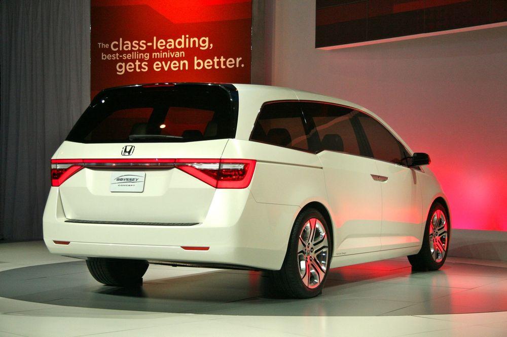 Концепт Honda Odyssey, фото с выставкиё