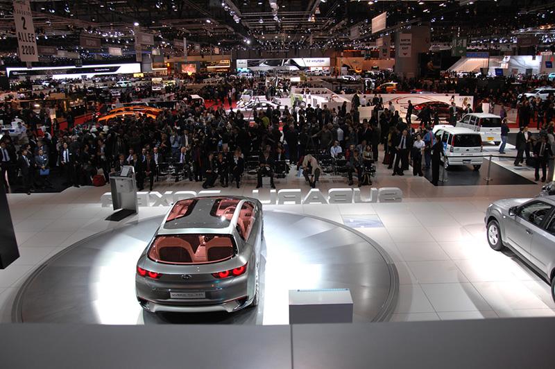 Премьера Subaru Hybrid Tourer в Женеве