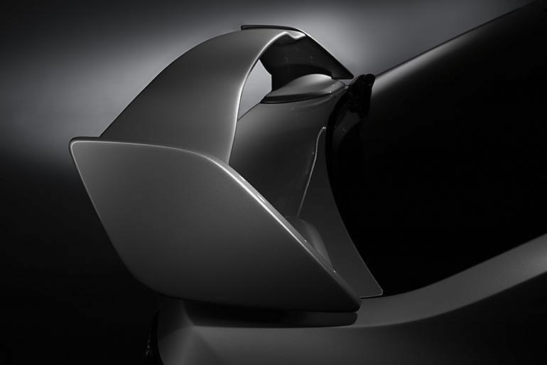 Subaru утверждает, что этот элемент только положительно сказывается на аэродинамике