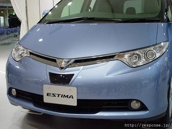 Микроволновый радар на Toyota Estima