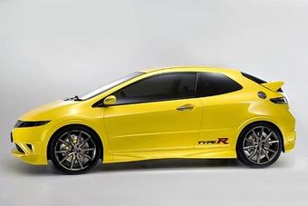 Honda Civic Type R Concept - европейская версия