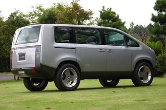 Mitsubishi Concept D:5 - возможно так будет выглядеть новое поколение Delica