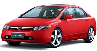 Honda Civic Sedan - версия для китайского рынка