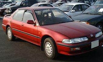 Honda Integra в кузове седан: выпускалась с 1989 по 1993 годы
