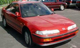 Honda Integra в кузове купе: выпускалась с 1989 по 1993 годы