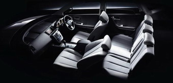 Интерьер салона Nissan Murano Stylish Silver Leather