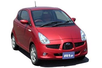 Subaru R1e, послуживший прототипом для создания корпоративного электромобиля