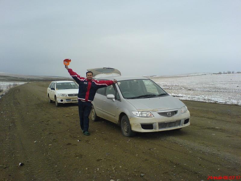 На Mazda Premacy и Nissan Expert из Спасска-Дальнего в Уфу.