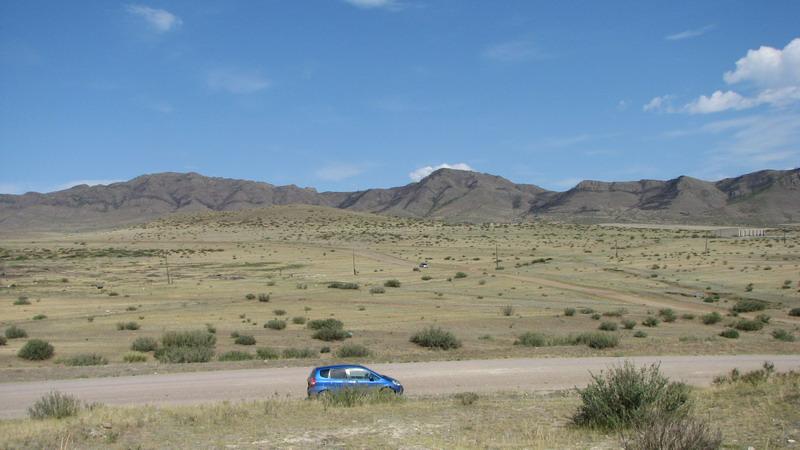 Путешествие по Республике Тува на Honda Fit.