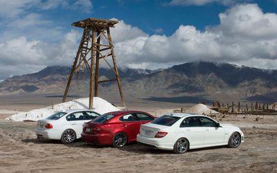 Сравнительный тест: BMW M3 против Lexus IS F и Mecedes-Benz C63 AMG.