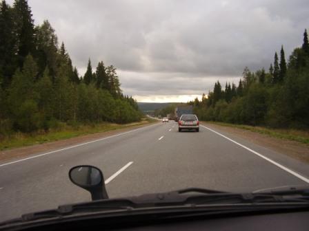 По дороге на Екатеринбург