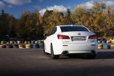 Lexus IS F на тест-драйве Drom.ru.