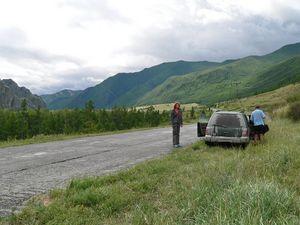 Дорога в Туву