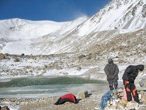 Штурмовой лагерь – 2 970 м