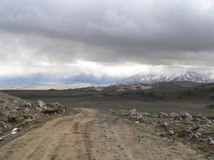 Дорога на Кызыл-Хаю