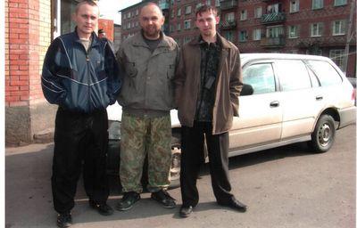 Дмитрий, я и Григорий, Боготол 28.05.06
