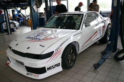 «Сильвия» (Nissan Silvia) с RB26 на борту.